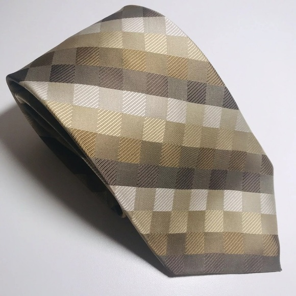 New Pronto Uomo high quality men/'s tie,100/% silk